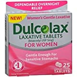 Amazon Com Dulcolax Pink Laxative Tablets 25 Count