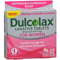 (Dulcolax Laxative Tablets for Women, 5 mg, 25 Tabs (Pack of 2))