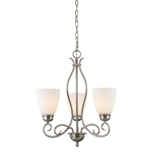 Elk Lighting 1103CH/20 Thomas Lighting Chatham 3-Light Chandelier, 22