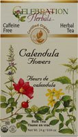 Celebration Herbals Organic Calendula Flower Bulk Tea Caffeine Free -- 0.84 oz