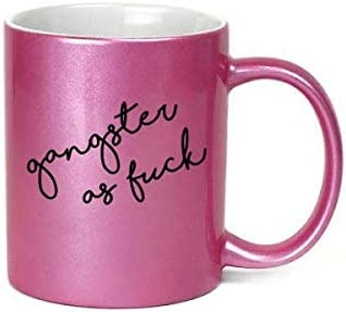 Fuck Middle Finger Heart Neon Retro Coffee or Tea 11oz Mug Perfect Gift