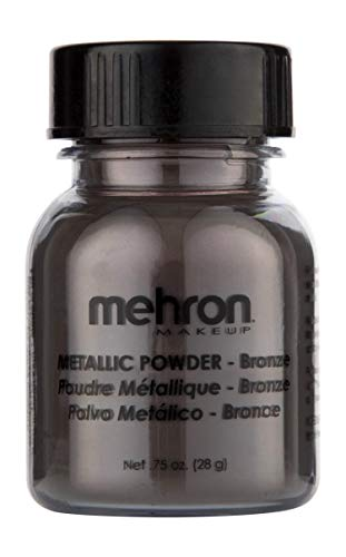 Mehron Makeup Metallic Powder (.75 oz) (BRONZE)