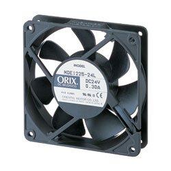 Oriental Motor (ORIX 24 VDC Axial Cooling Fan - 4.69 in. (W) X 4.69 in. (H) [119 mm (W) X 119 mm (H)])