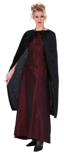 Rubies Costume Velvet Length Black