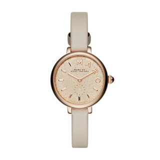 Marc Jacobs Women's Sally Grey Leather Watch - MJ1421