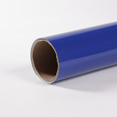 (Oracal 651 BLUE Permanent Vinyl Roll 12