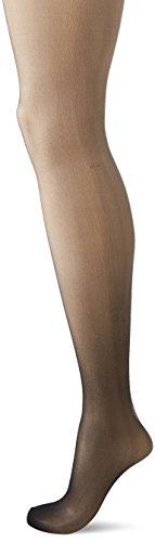 Hanes Silk Reflections Women's Perfect Nudes Control Top Pantyhose, True Black, SMALL