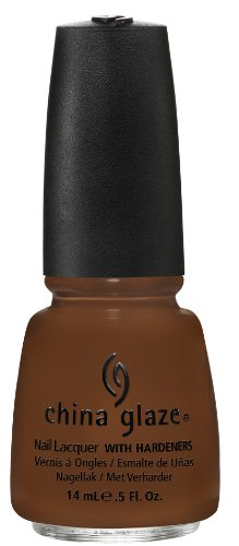 China Glaze Nail Lacquer, Mahogany Magic, 0.5 Fluid Ounce ()