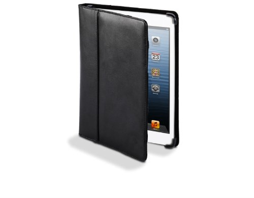 Cyber Acoustics iPad Mini Black Leather Cover - Cyber Carrying Acoustics Case