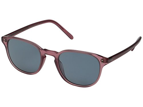 Oliver Peoples Unisex Fairmont Semi-Matte Vintage Red Brown/Indigo Photochromic - Peoples Sunglasses Vintage Oliver