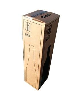 20 x 1 Botellas Caja de Envío para Botellas de Vino UPS DHL probado Caja vino Vino botellas envío Embalaje 20 completo Cajas: Amazon.es: Oficina y papelería