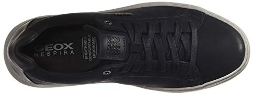 Geox Herren U Deiven B Sneaker, Blau (Navy C4002)