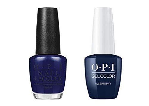 Russian Navy Nail Lacquer + Gel New Bottle R54