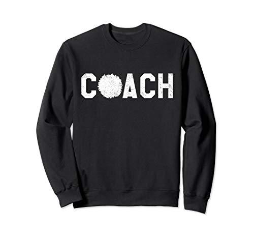 Cheer Coach Sweatshirt - Cheerleading Coach Sweatshirt ()