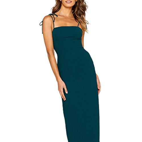 ANJUNIE Women Off Shoulder Backless Pencil Maxi Dress