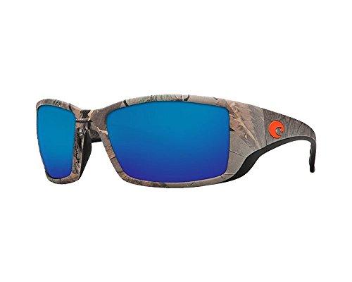 02ba405820 Costa Del Mar Blackfin Sunglasses - RealTree Xtra Camo Frame - Blue Mirror  580G Lens