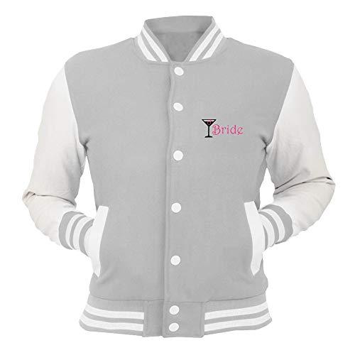 Cocktail Grigio College shirtshock Beer0191 Bride Giacca T tq8w6Yvq