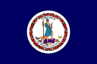 Annin Flagmakers 145681 6 ft. X 10 ft. Nyl-Glo Virginia Flag