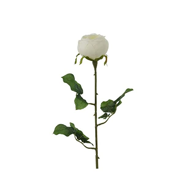 Renaissance 2000 Artificial Rose Spray, White
