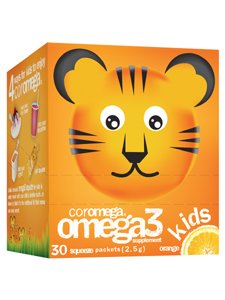 Coromega Omega 3 enfants orange Glissez 30 Pkts