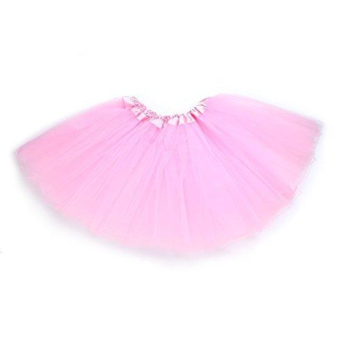 (Anleolife 12'' Ballet Tutu Dress Cheap Tutu Skirt Ballet Dance Mini)
