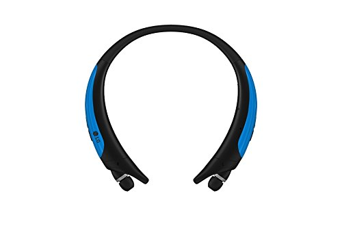 LG Electronics Tone Active Premium Wireless Stereo Headset – Retail Packaging – Blue