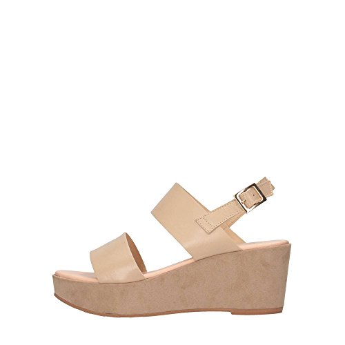 Beige Woman P91F1 Sandals HARON DAVID Beige Swx4H67