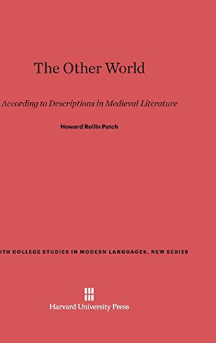 The Other World (Smith College Studies in Modern Languages, New) by Harvard University Press