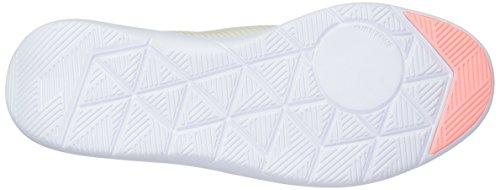Reebok Womens Studio Basics Track Shoe Chalk / Sand Stone / Sour Melon / Bianco