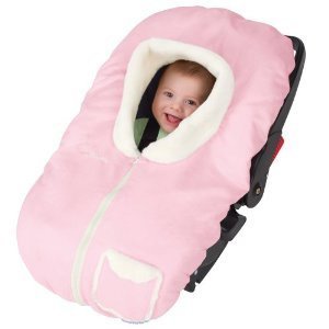 Amazon.com: Pink Kiddopotamus PoshPouch Premium Carrier Cover Sherpa ...