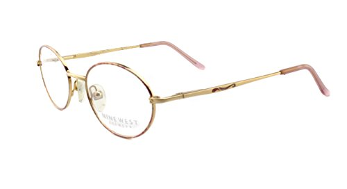 New Authentic Nine West NW08 Gold (5WS) Womens Eyeglasses 51mm
