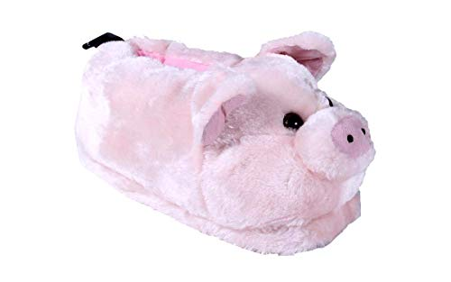 (Comfy Feet Pig Animal Feet Youth Slippers)