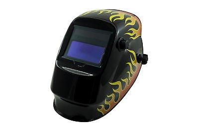 Máscara para soldar casco para cerrajero Protección a cristales líquidos