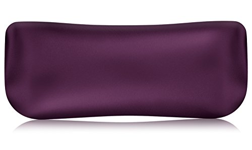 (MoKo Lavender Eye Pillow, Cassia Seed & Lavender Aromatherapy Eye Mask Travel Pillow for Yoga, Meditation, Relaxation, Soothing Stress and Headache Relief - Purple)
