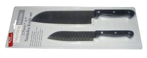 Sterling Home 8510 Elite Collection 2 Piece Santoku Knife Set