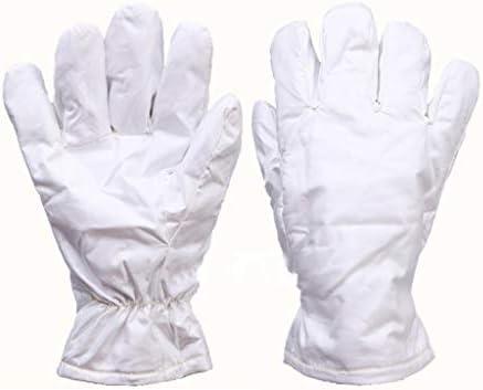 手袋 180度のほこりのない高温手袋はクリーンルームのために適した耐久力のある手袋アラミド材料を絶縁しました LMMSP (Size : 26cm)