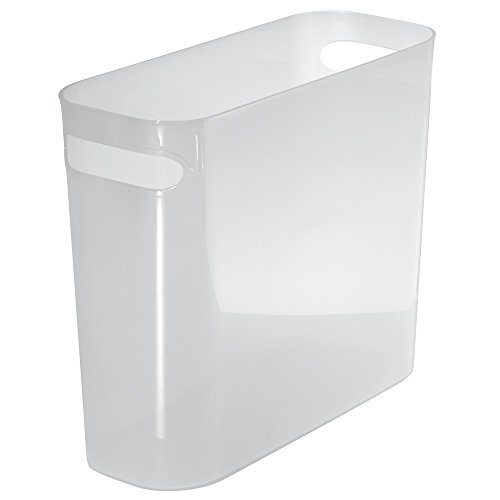 mDesign Plastic Wastebasket Trash Can - 10