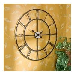 Vintage Wall Decorative Clock For Everywhere; Classic Design Can Add Dramatic Accent To Any Walls