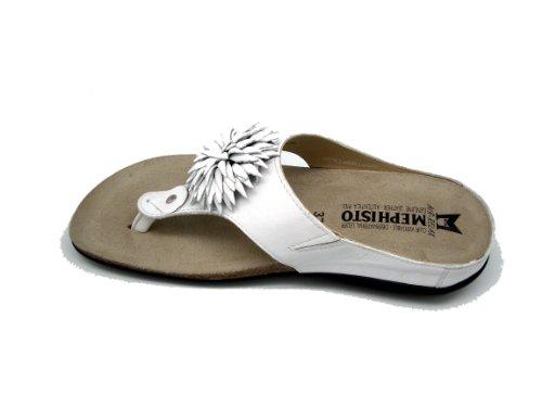 Mephisto - Abigael Elchkid - Sandalias para Mujer - Color : Blanco
