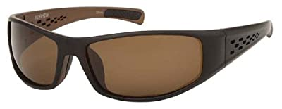 Pacific Edge Wrap Sports Polarized Sunglasses For Golf, Sailing, Cycling, Fishing