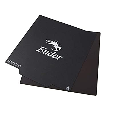CHPOWER Creality Ender 3 Magnetic Build Surface, Removable Ultra-Flexible 3D Printer Heated Bed Cover 235X235MM