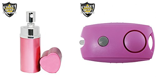 Bundle Package Designer Pepper Spray & Personal Alarm