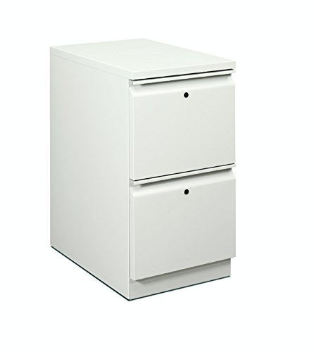 HON H18823R.L.Q Flagship Mobile Pedestal with 2 Boxes/1 File Drawer and Radius Pull, 15