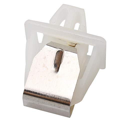 Yibuy 19mm Length White Dryer Door Latch Part Replacement 279570 for Whirlpool by Yibuy (Image #1)