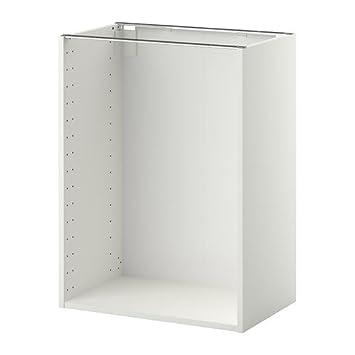 Ikea Metod - Unterschrank Gestell, weiß: Amazon.de: Küche & Haushalt