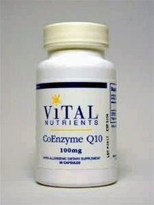 Nutriments vitaux, Coenzyme Q10 100 mg 60 capsules