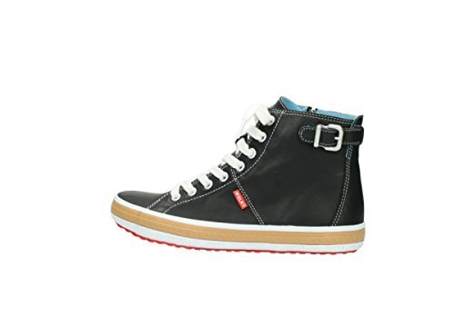 Wolky Comfort Sneakers Biker Grey Leather