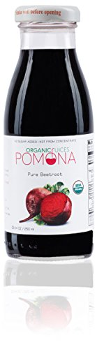 Pomona Organic Pure Beet Juice, 8.4 Ounce (Pack of 12) not from concentrate gmo free kosher