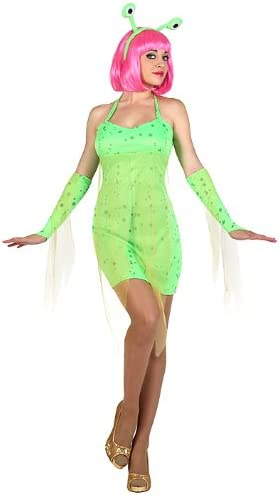 Atosa-22987 Disfraz Alien, color verde, M-l (22987): Amazon.es ...
