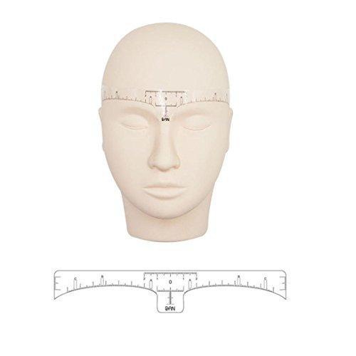 Amiley eyebrow ruler , 10 Pcs Disposable